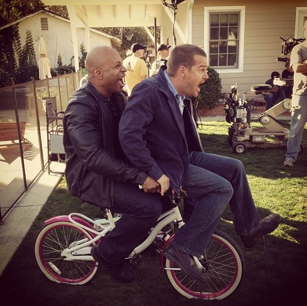 24. LL Cool J and Chris O'Donnell - NCIS: Los Angeles