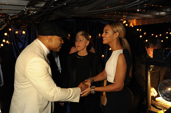 18. LL Cool J, Ellen Degeneres, Beyonce Knowles
