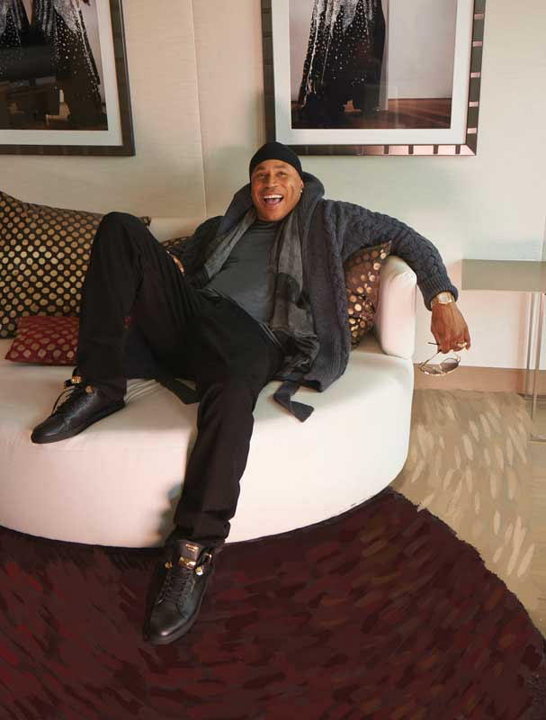 LL Cool J Flashes His Signature Smile