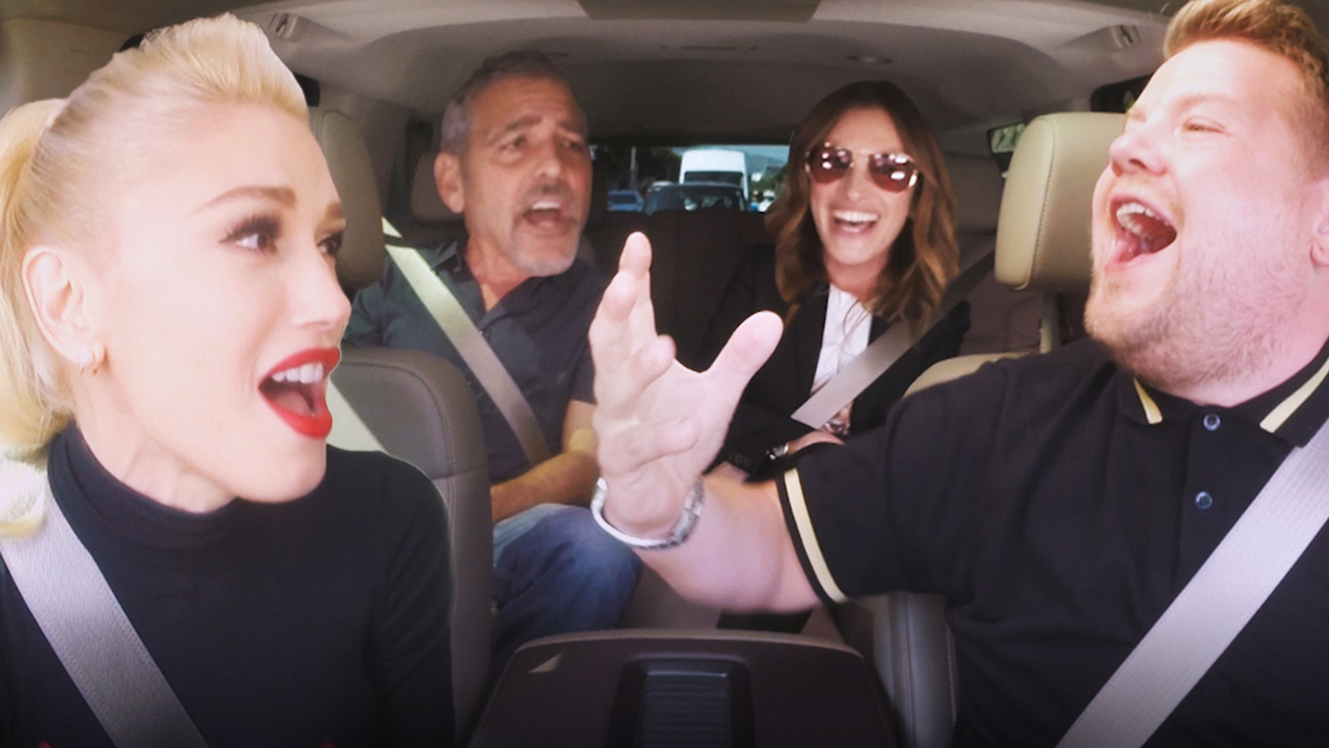 Surprise guests showed up during Gwen Stefani's Carpool Karaoke on The Late Late Show