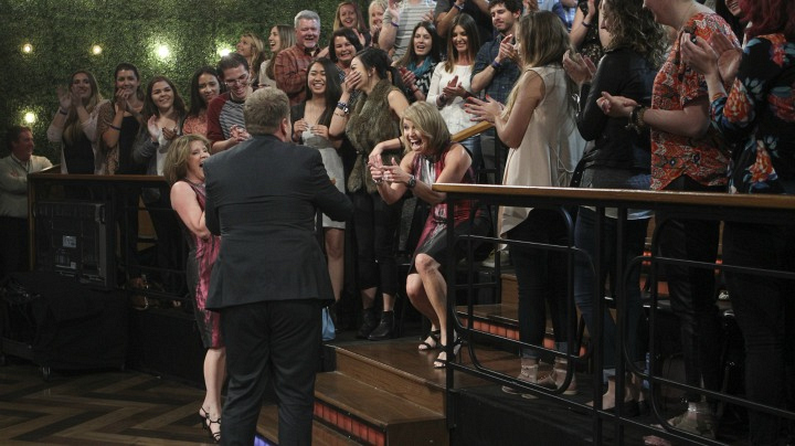 4. Katie Couric pulled an epic prank on James Corden.