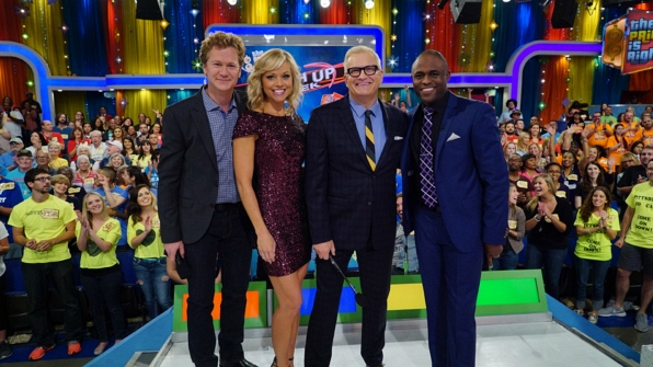 CBS celebrated Let's Make A Deal / The Price Is Right Mash Up Week.