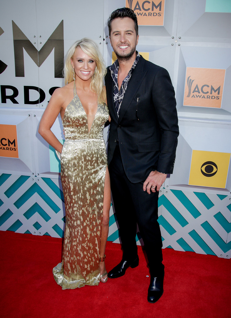 2016 ACMs: Caroline Boyer and Luke Bryan