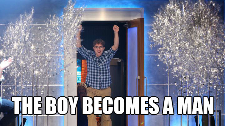 Steve's wildest dreams come true.