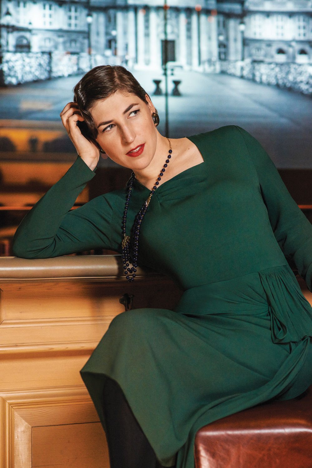 Mayim Bialik of The Big Bang Theory  - Feb 2014 - Watch! Magazine