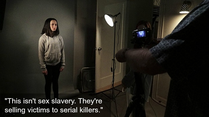 Meg and Markayla were abducted by a human trafficking ring.