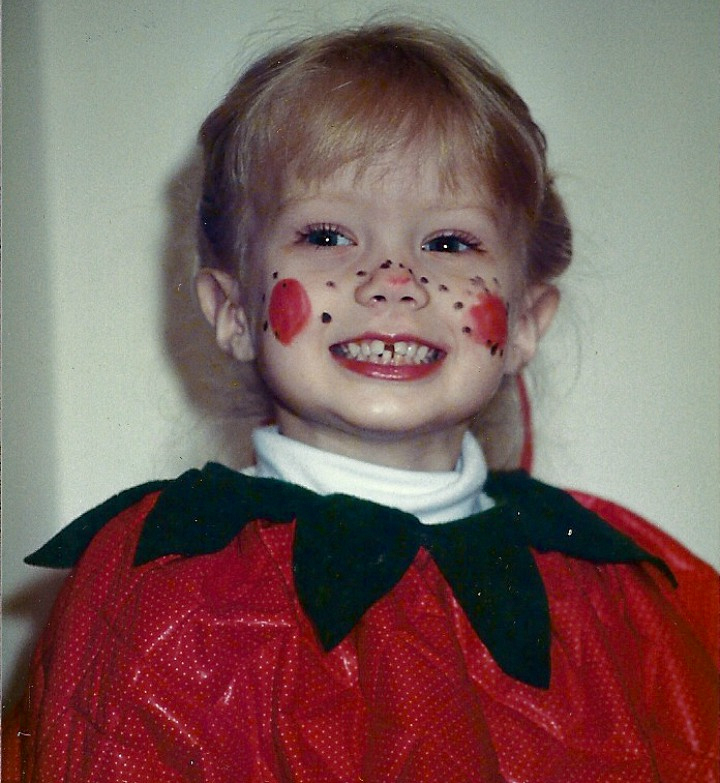Melissa Ordway was sweet as a strawberry.