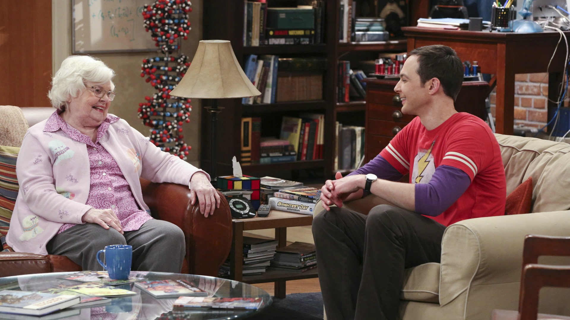 Sheldon's Meemaw visited him on The Big Bang Theory.