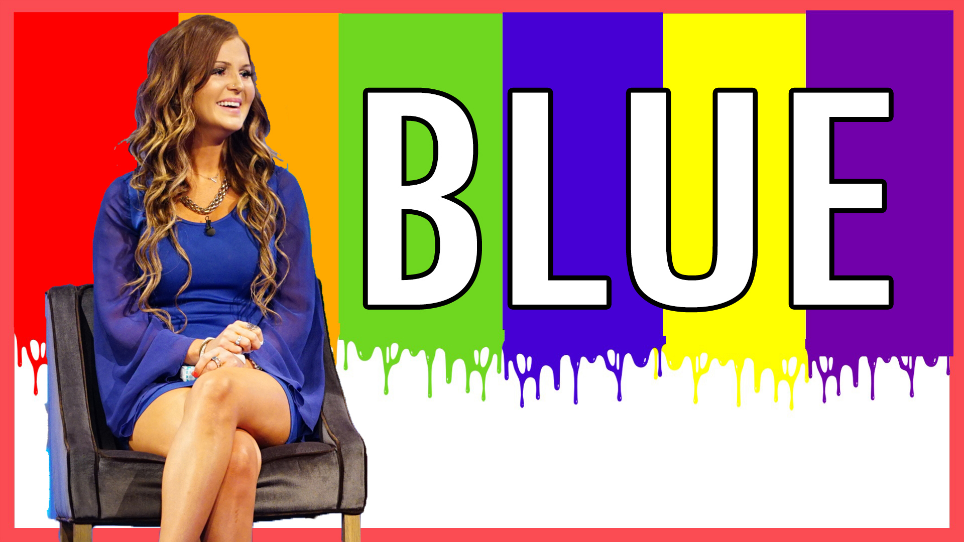 Question: What color dress was Michelle wearing before her eviction?