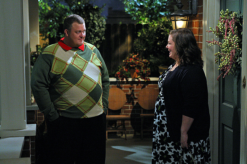 Melissa McCarthy and Billy Gardell, Mike & Molly