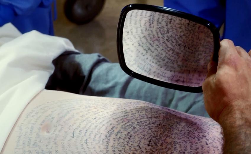 Mirrored Script