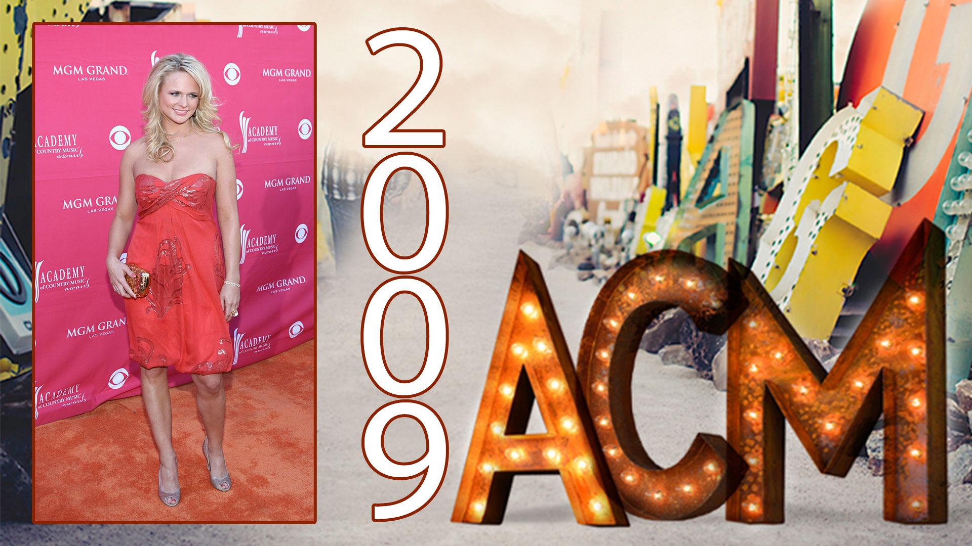 "Miranda Lambert was the ""Virginia Bluebell"" of the ball in 2009."