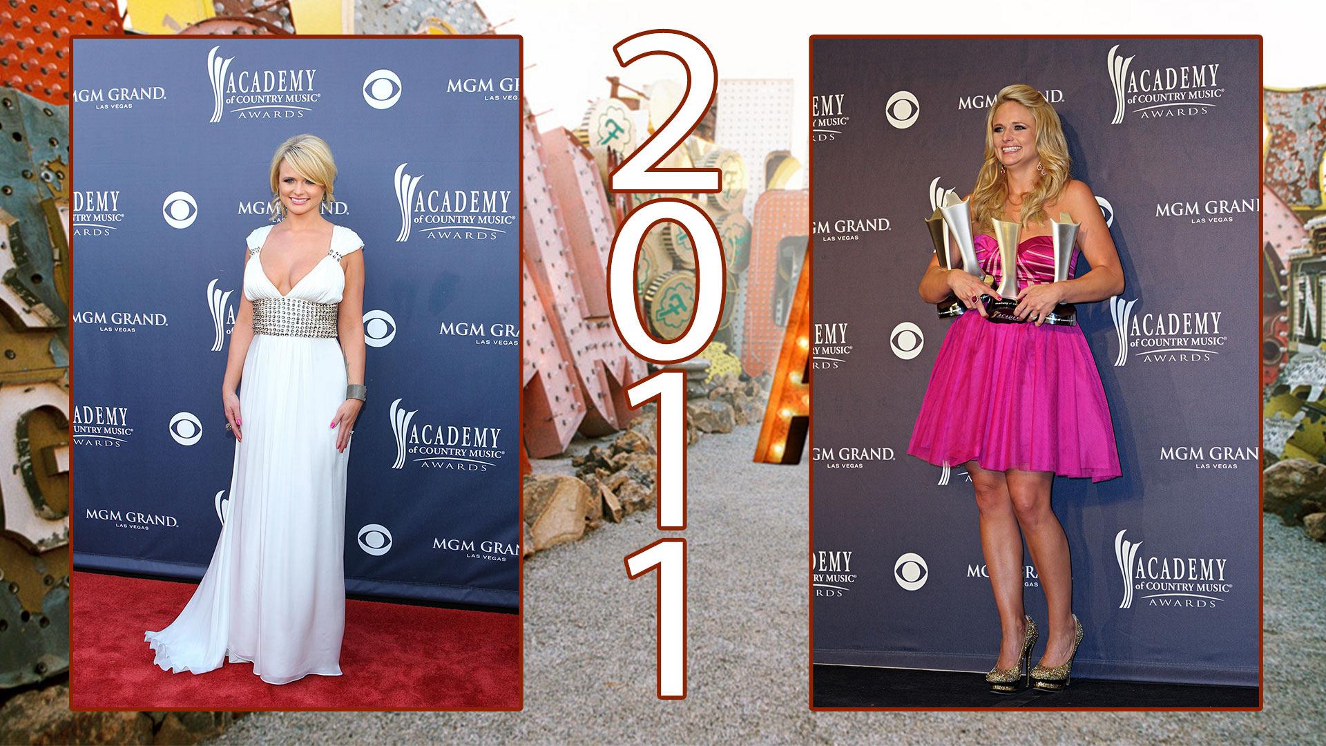 It's easy loving both of Miranda's 2011 ACM looks.