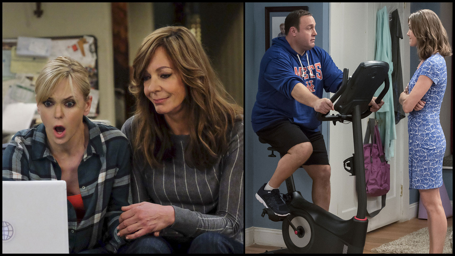 Fans of the outrageous humor seen on Mom will want to dive right into Kevin Can Wait.
