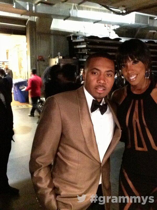 Nas and Kelly Rowland