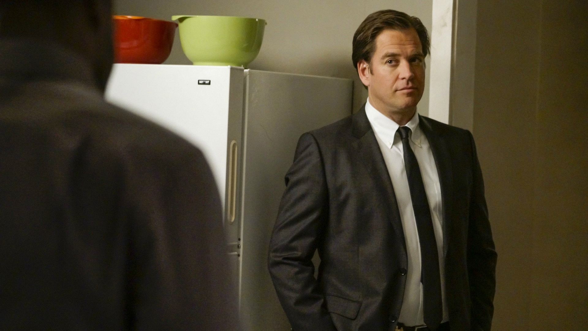 DiNozzo gets serious.