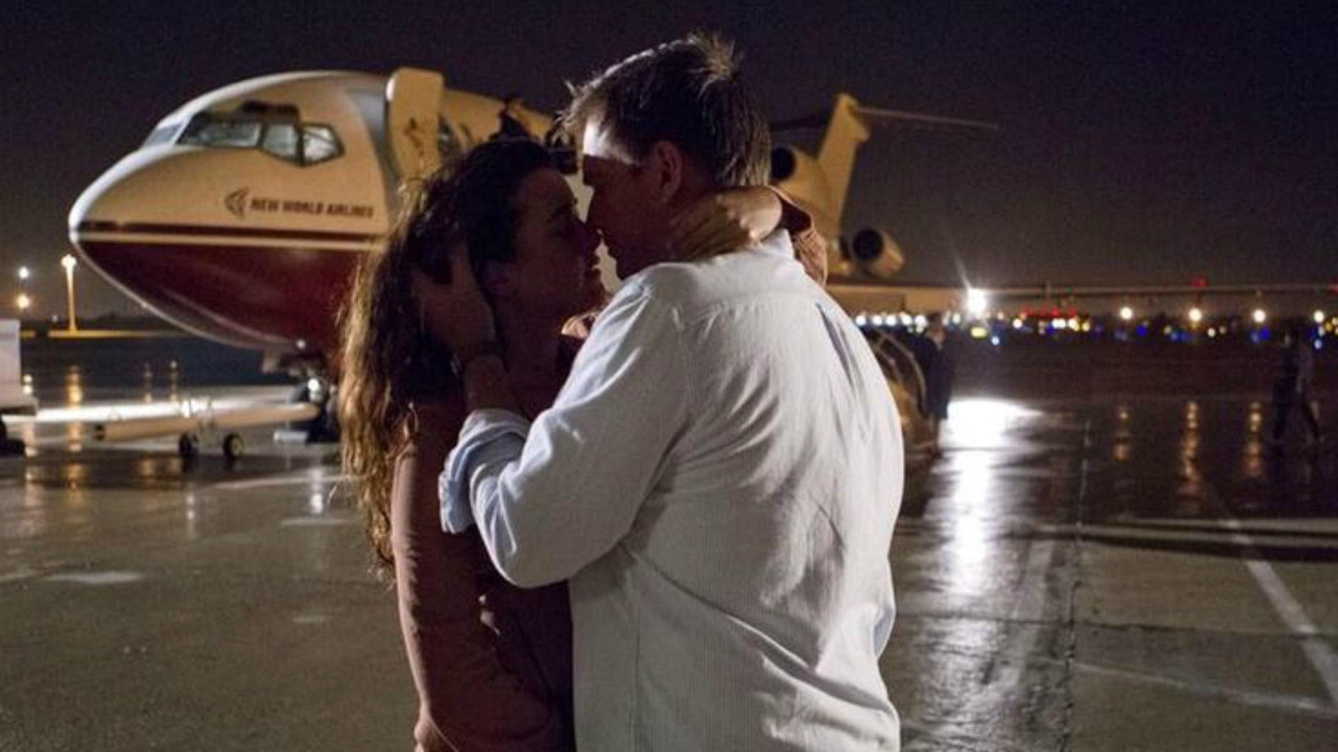 DiNozzo and Ziva say goodbye