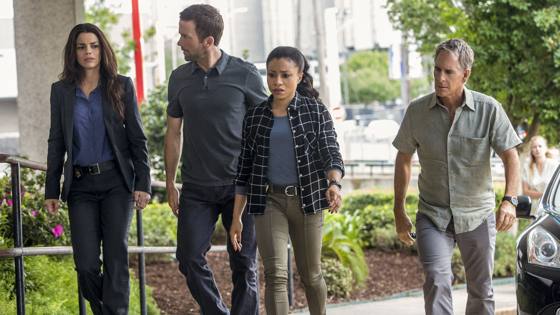 The team will track a sniper when NCIS: New Orleans premieres this fall.
