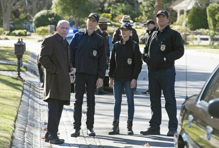 The NCIS team works with FBI Special Agent Tobias Fornell.