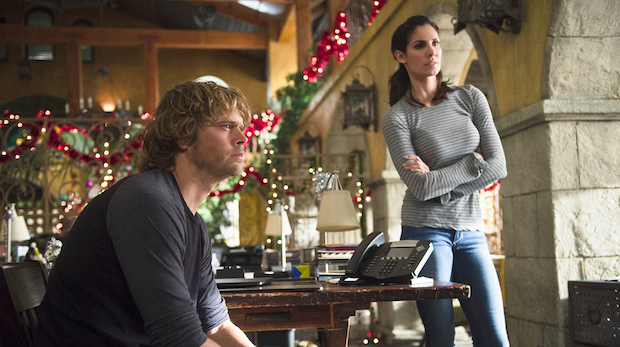 When Kensi and Deeks spent the holidays together—with their moms.