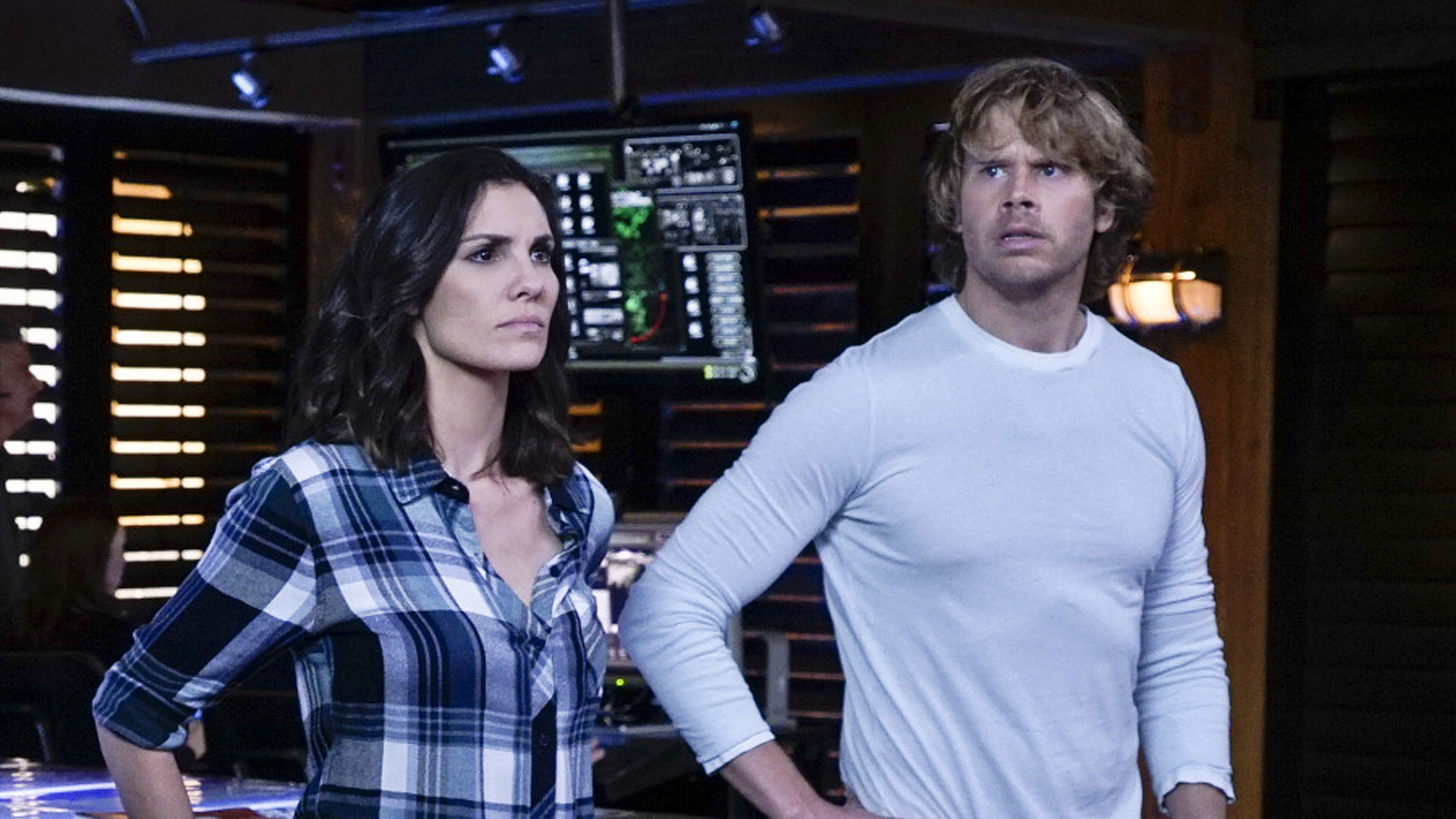 "When Deeks and Kensi felt out ""I do's."""