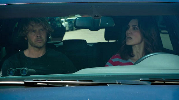 When the couple faced uncertainty about Deeks' investigation.