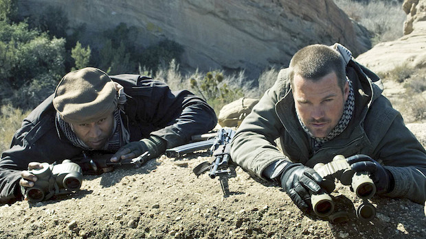 NCIS: Los Angeles: The team saves Kensi from capture/torture in Afghanistan.