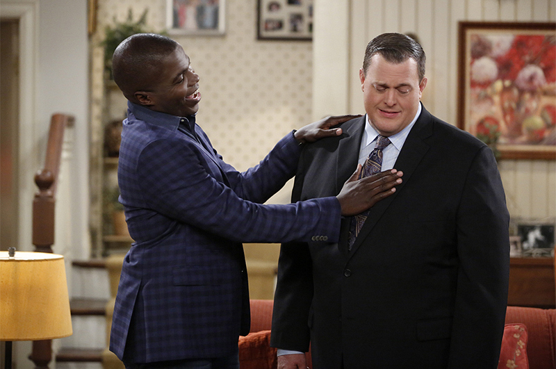 2. He was the one who told Billy Gardell to audition for the role of Mike.
