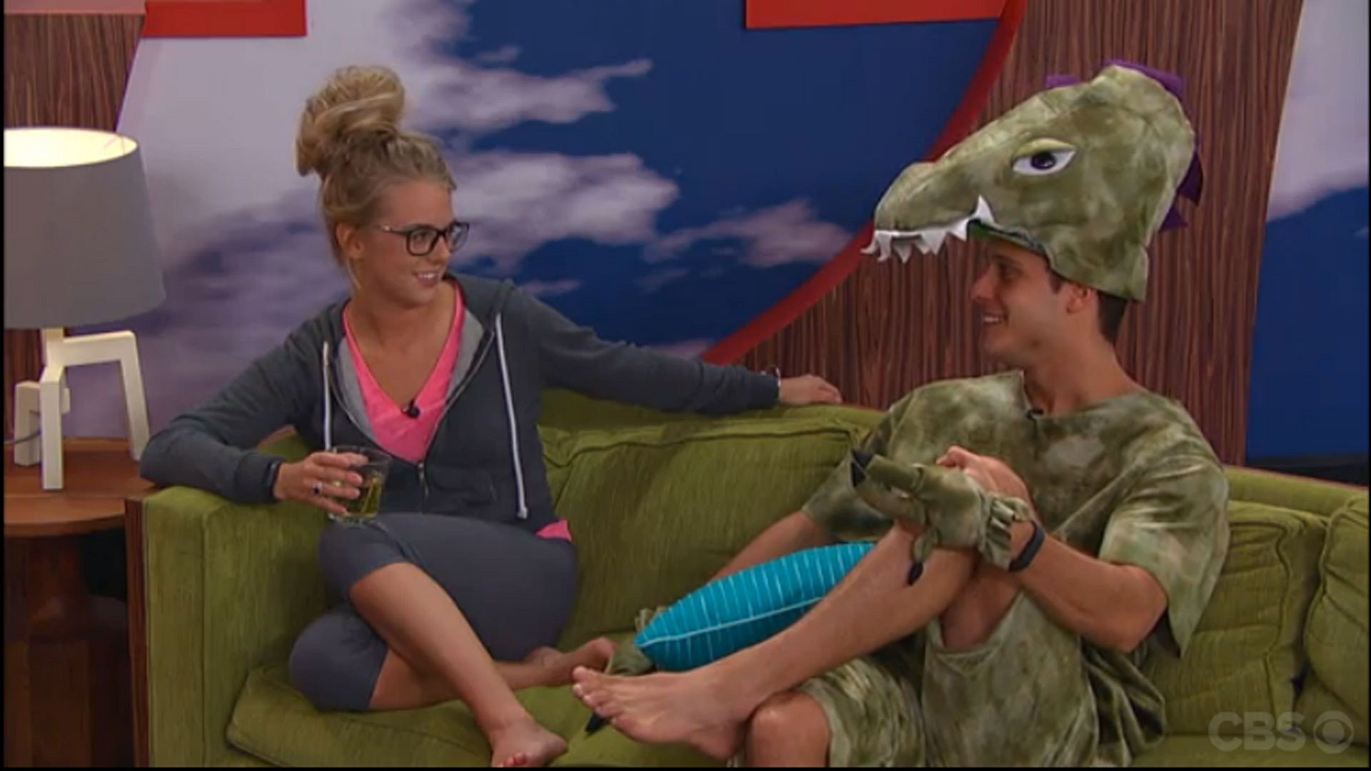 4. Cody is stunned Nicole is in another showmance this season.