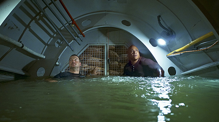 G. Callen and Sam Hanna - NCIS: Los Angeles