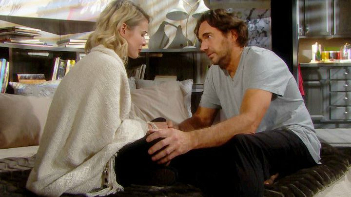 Caroline breaks down when she learns Ridge doesn't want a family