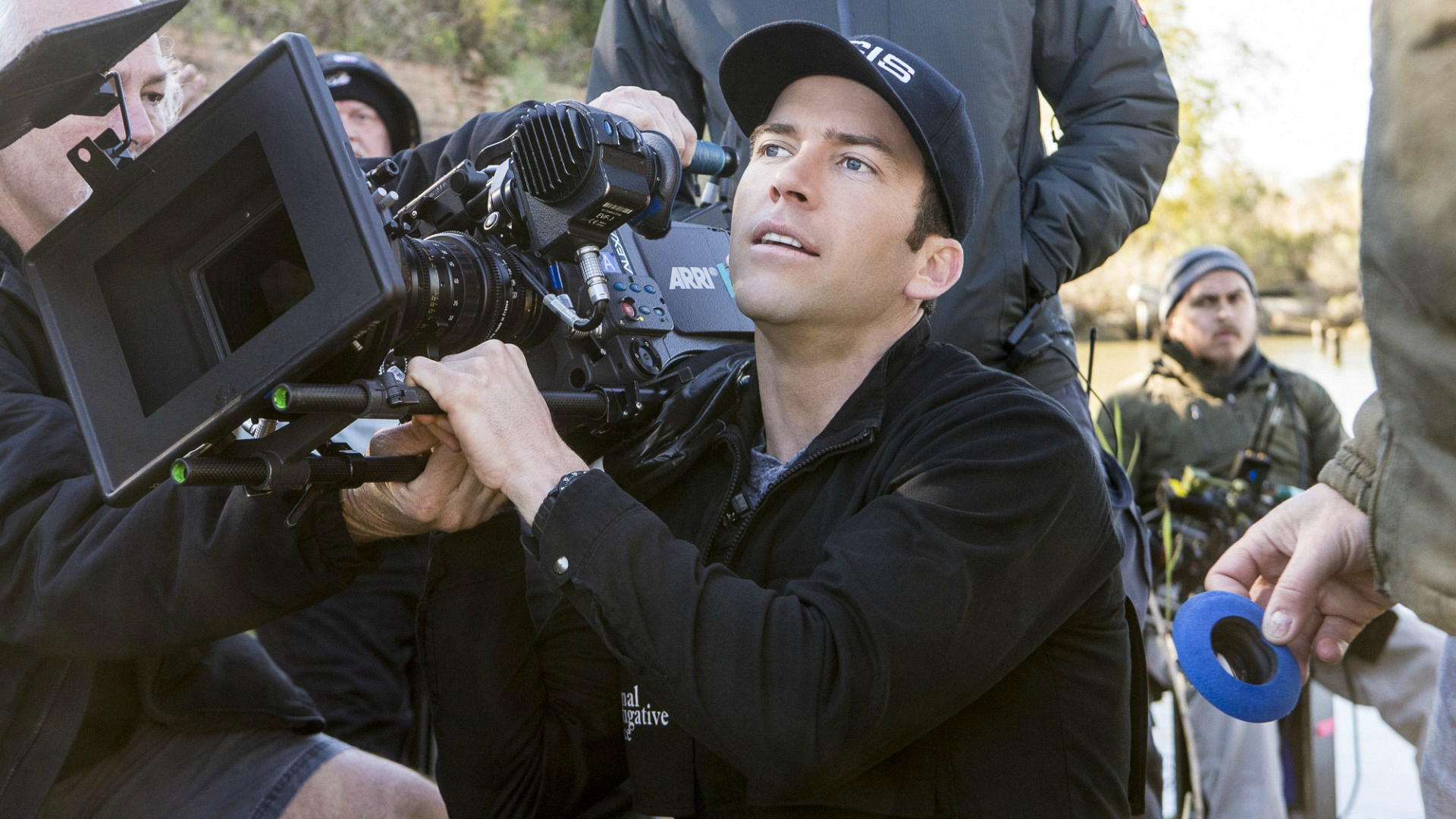 "Lucas Black got behind the camera on the set of NCIS: New Orleans for the episode ""Second Chances."""