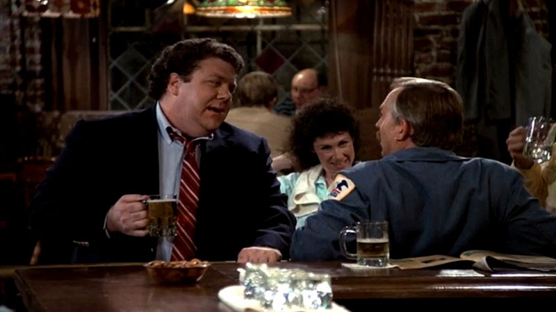 3. Norm Peterson on Cheers