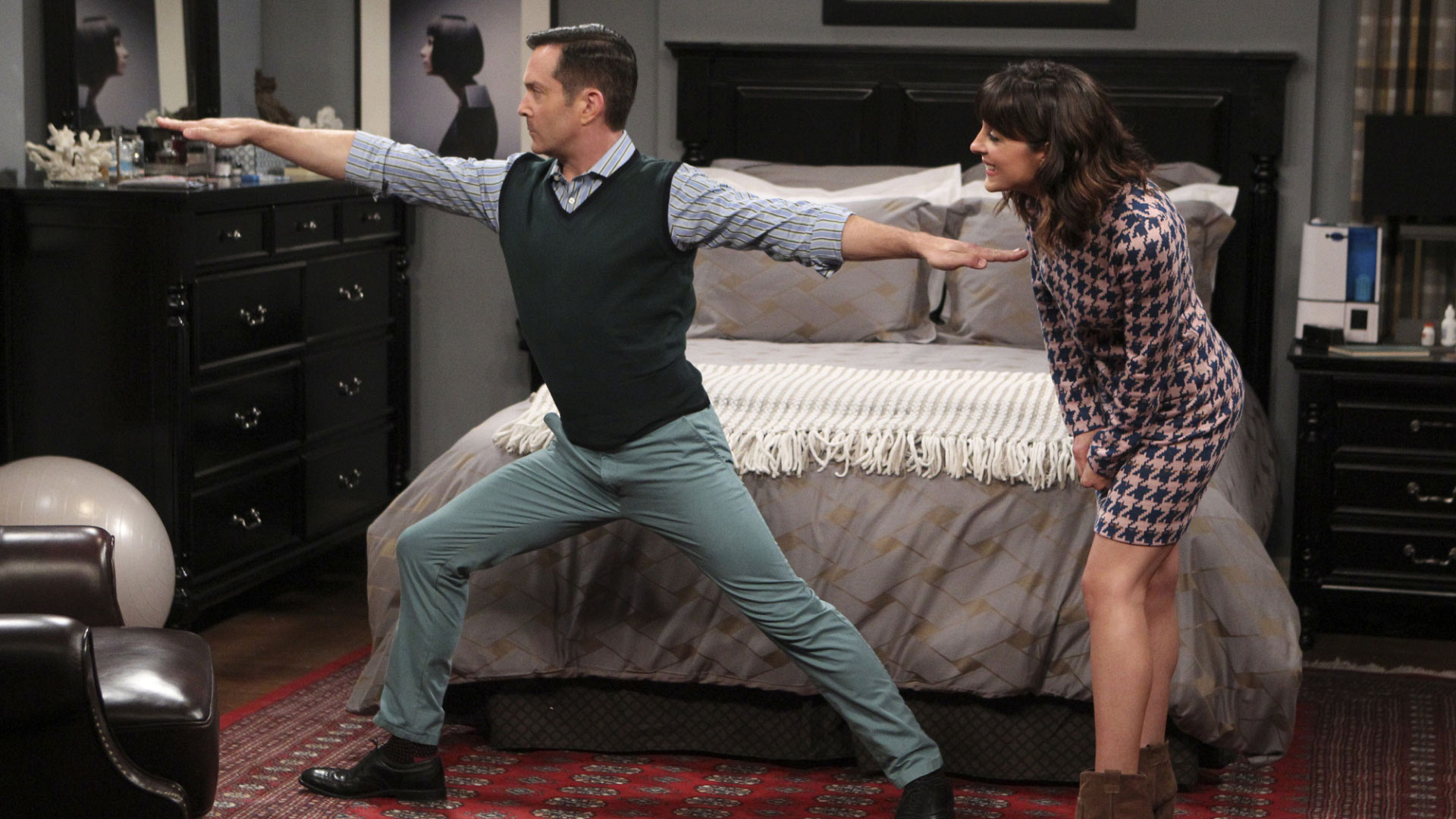 Can Emily and Felix handle a three-month separation on The Odd Couple?