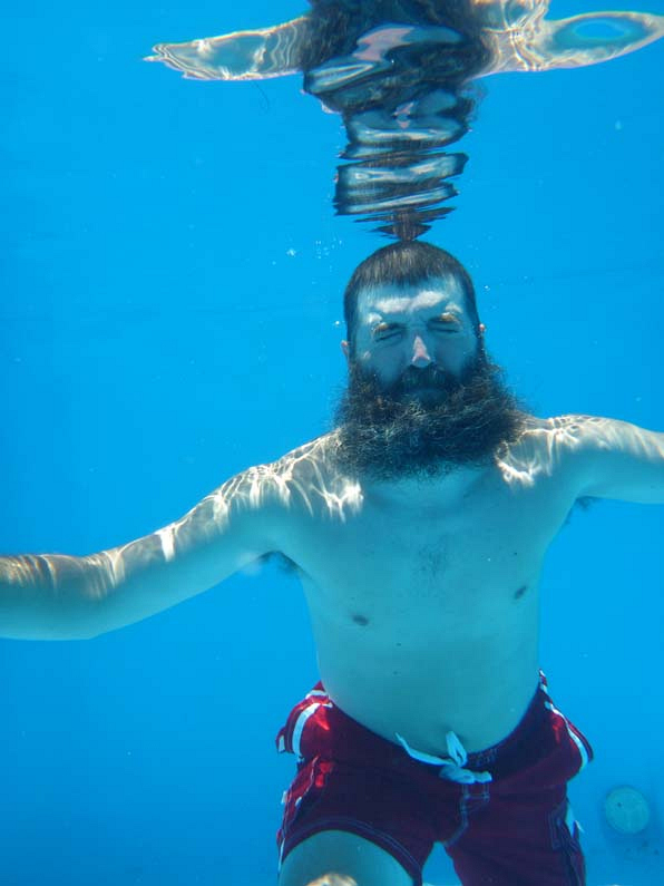 Donny underwater