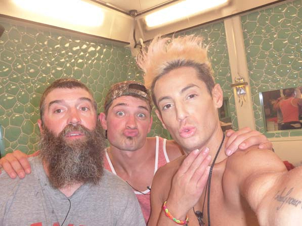 Donny, Caleb and Frankie