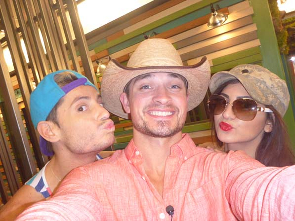 Frankie, Caleb and Victoria
