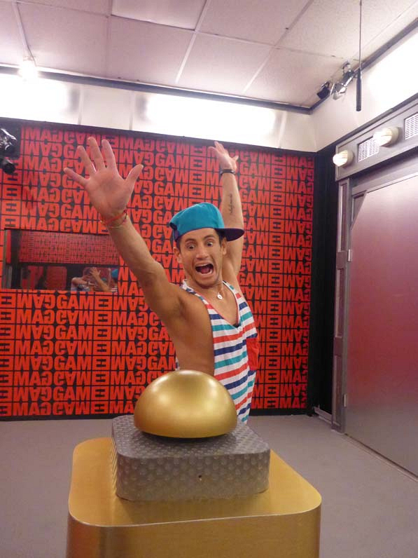 Frankie get ready to hit the button