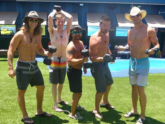 Jace, John, James, Jeff & Clay