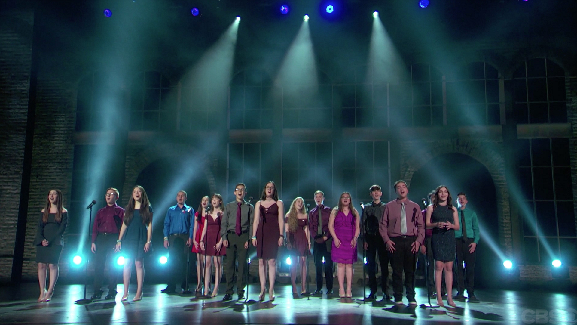 "The Marjory Stoneman Douglas Drama Club perform ""Seasons Of Love"" from Rent at the 2018 Tony Awards."