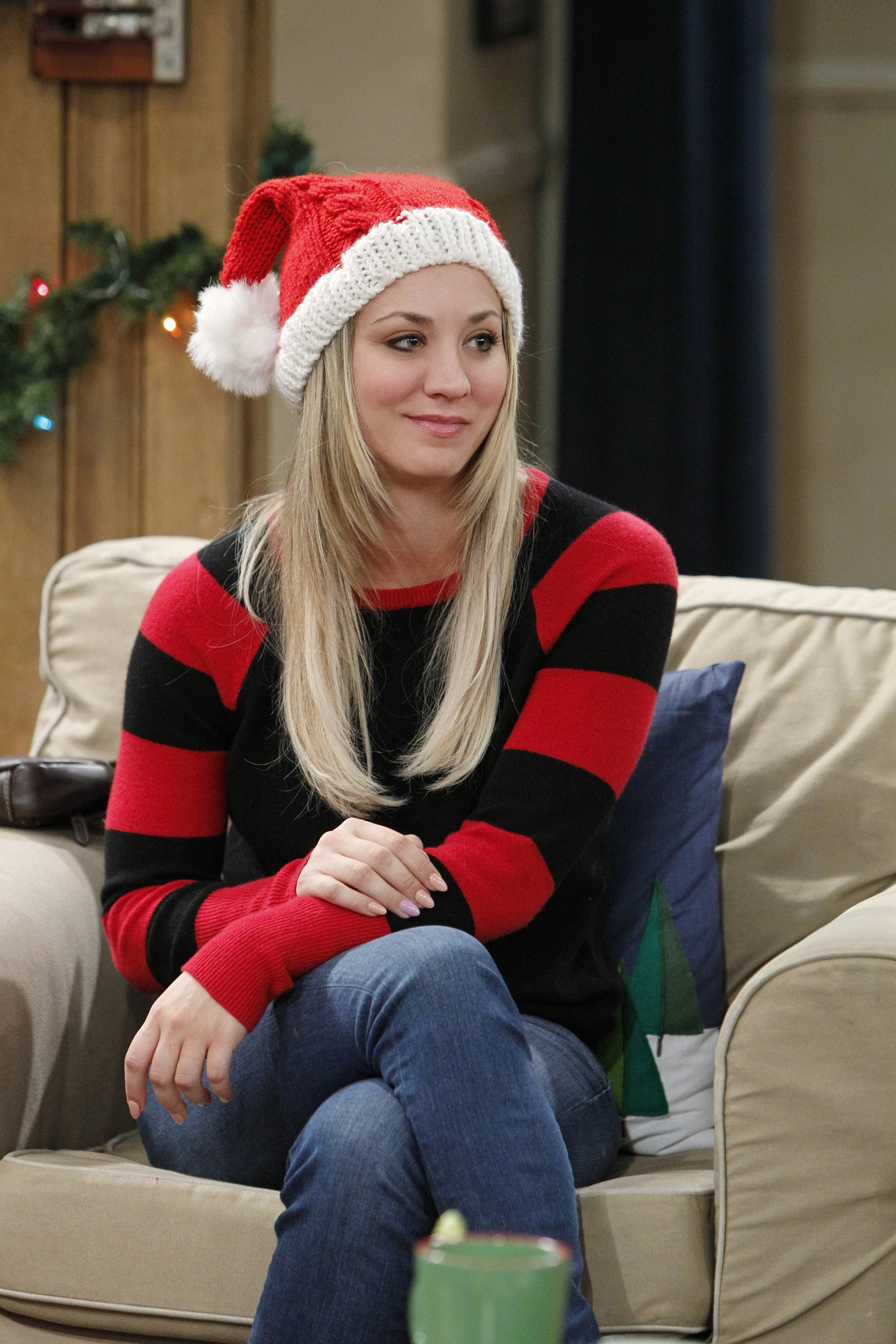 It's Kaley Cuoco—or Penny, from The Big Bang Theory!