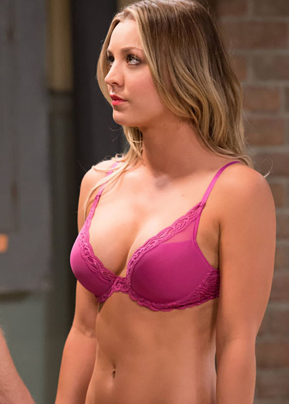 It's Kaley Cuoco—or Penny, from <i>The Big Bang Theory</i>.