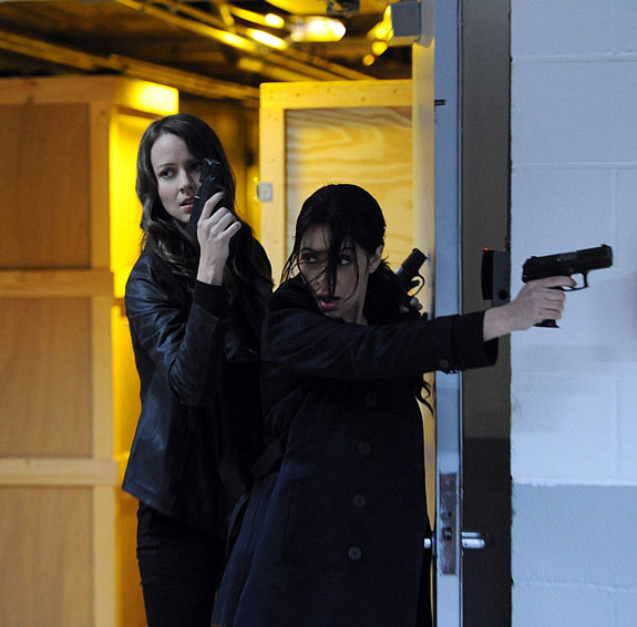 7. Sameen Shaw and Root (Person Of Interest)