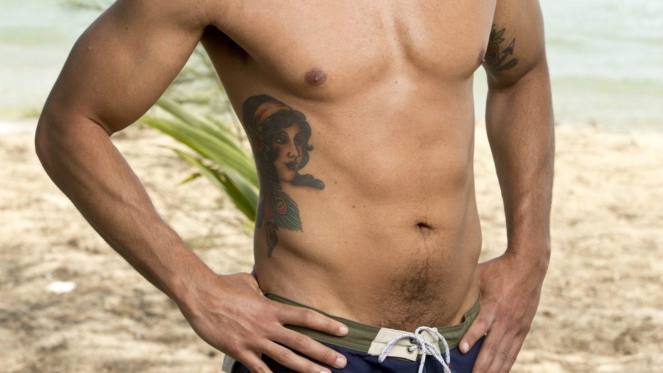 This Survivor contestant is an ER Doctor, so it's no wonder he's so fit!