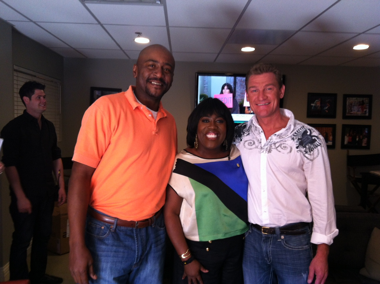 Mark and Bopper with Sheryl Underwood