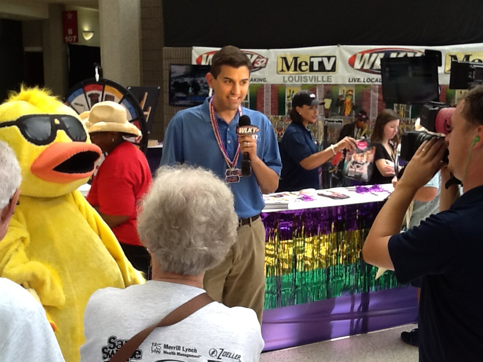 NCIS: New Orleans at the Kentucky State Fair