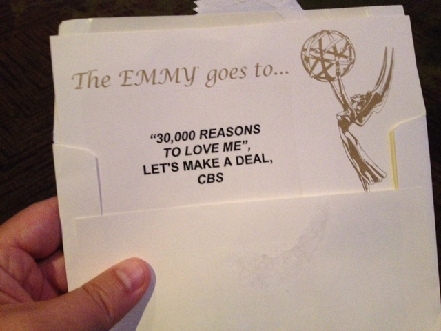 And The Emmy Goes To....
