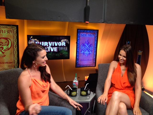 Morgan on Survivor Live