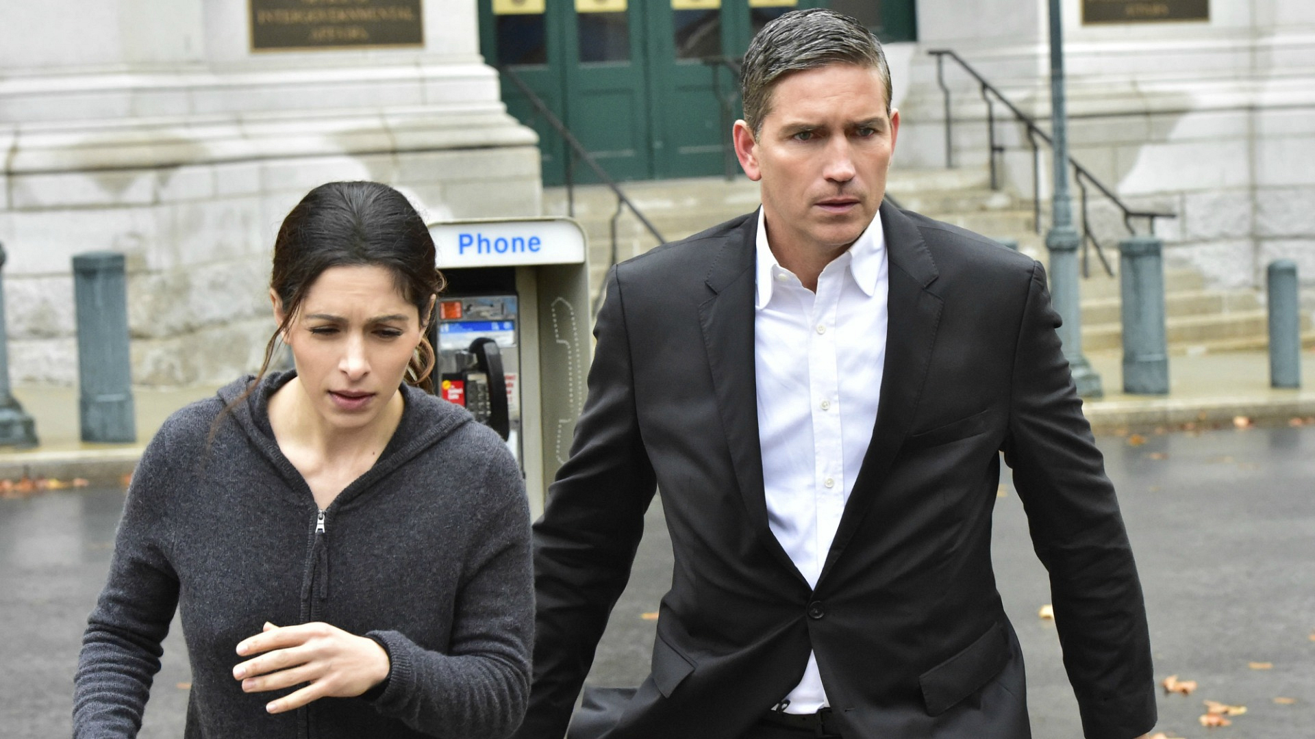 Shaw and Reese set out on their latest mission.