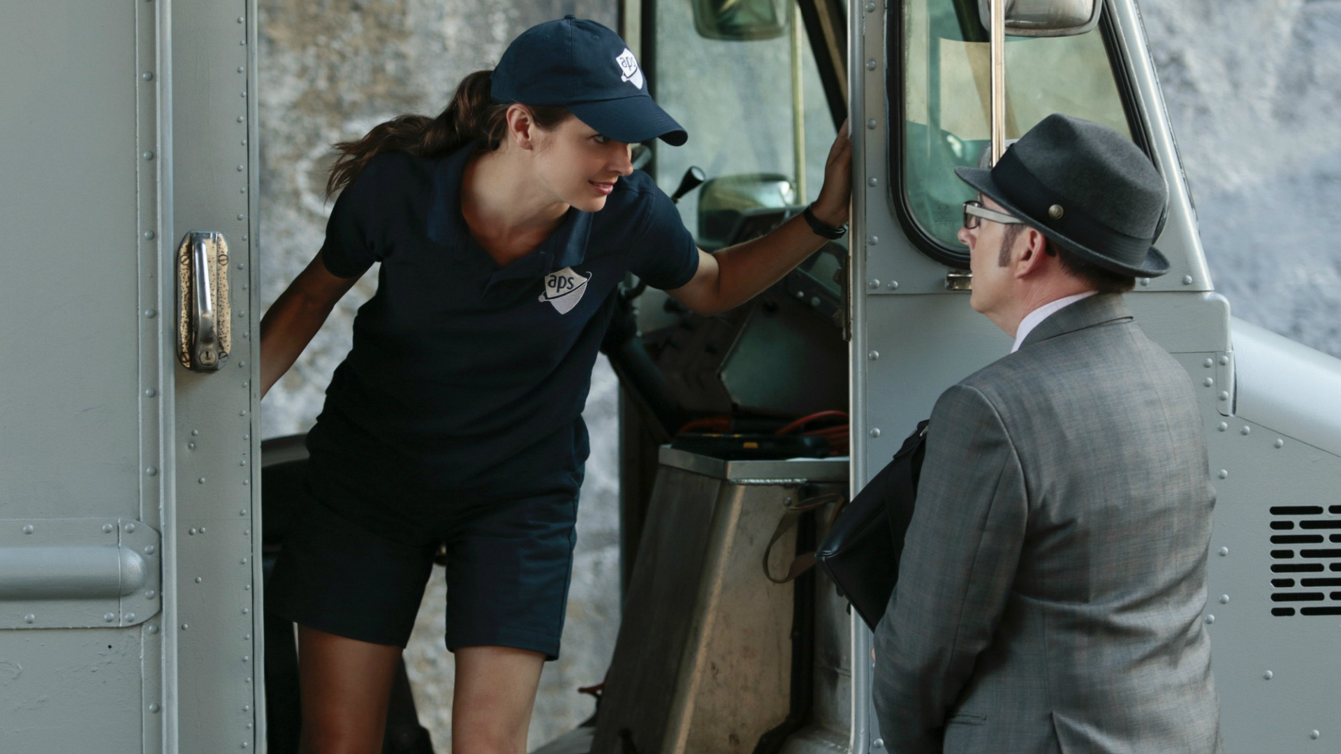 Root and Finch discuss a game plan.